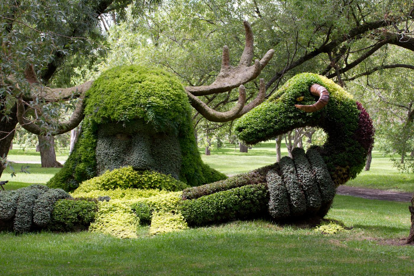 Les g ants des mosa cultures internationales essentiae for Jardin botanique de conception