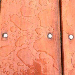 Texture de ville - pluie